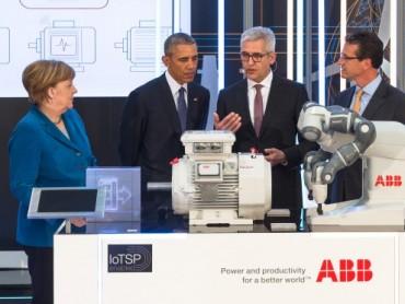 Obama i Merkelova inspirisani ABB-ovom revolucionarnom tehnologijom na Sajmu industrijske tehnologije u Hanoveru