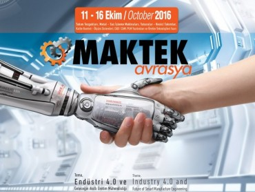 World Machinery Giants to Meet in Istanbul in October - MAKTEK 2016