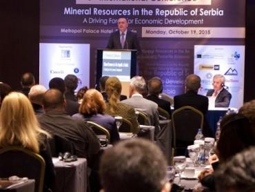 """6. Međunarodna konferencija: Mineralni resursi u Republici Srbiji """"POKRETAČKA SNAGA PRIVREDNOG RAZVOJA"""""""