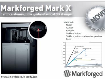 Predstavljamo 3D štampač Mark X