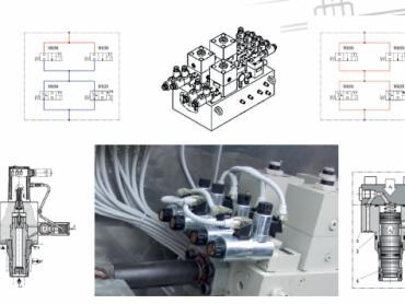 Univerzalno projektno rešenje za hidraulični upravljački blok koji upravlja brzim predturbinskim zatvaračima