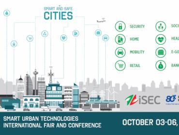 Međunarodni sajam iSEC – Pametni i sigurni gradovi; 3-6. oktobar 2017. Beogradski sajam