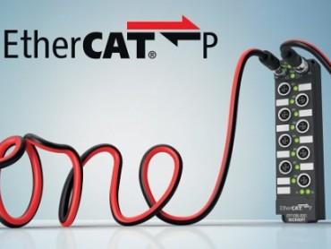 EtherCAT P: komunikacija i napajanje u jednom kablu