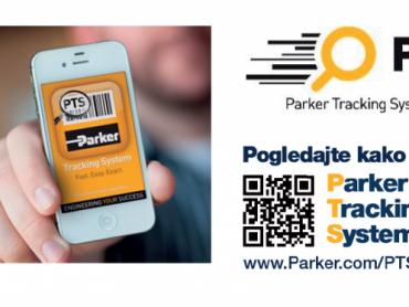 Sistem za praćenje Parker Tracking SystemTM (PTS)