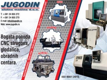 Specijalista za remont i modernizaciju konvencionalnih i CNC alatnih mašina