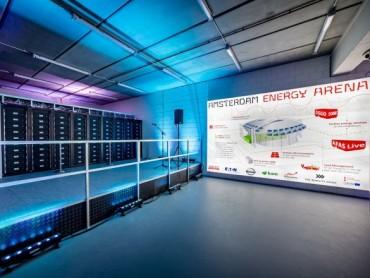 Sistem za skladištenje energije snage 3 megavata na stadionu Johan Cruijff ArenA počeo je sa radom