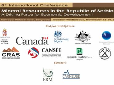 Osma međunarodna konferencija o mineralnim resursima u  Republici Srbiji
