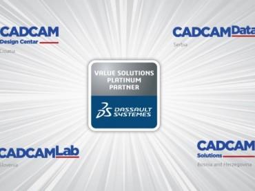 Ulaganje u znanje i kontinuirano prilagođavanje trendovima doprinelo proglašenju CADCAM Grupe u Platinum partnera Dassault Systemes