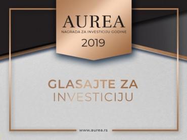 Glasajte za investiciju godine - Ovo su finalisti nagrade Aurea 2019
