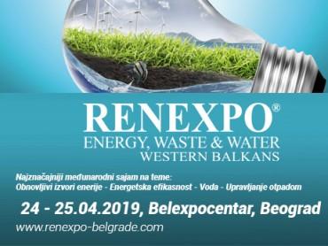 DVA DANA DO POČETKA 6. RENEXPO® ENERGY, WASTE & WATER u Beogradu