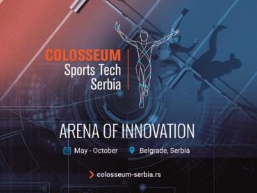 Otvorene prijave za startap program Colosseum Sports Tech Serbia