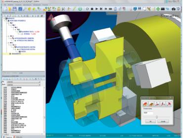 EUREKA - Virtuelna simulacija CNC mašina i robota
