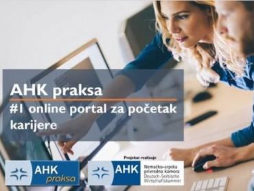 AHK online portal za studentske prakse zvanično pušten u rad