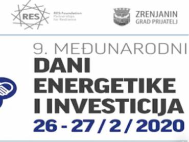 9. Međunarodni dani Energetike i Investicija