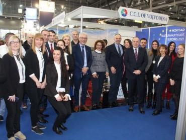 """Uspešan nastup turističke privrede Srbije na Međunarodnom sajmu turizma """"FERIEN"""" u Beču"""