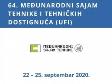 Novi termin održavanja Sajma TEHNIKE je 22 - 25. septembar 2020. godine