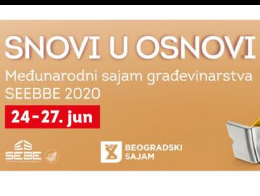 46. Međunarodni sajam građevinarstva SEEBBE u novom terminu - od 24. do 27. juna