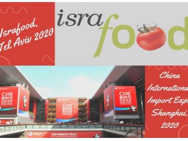 Otvorene prijave za učešće na sajmovima CIIE u Šangaju i Israfood u Tel Avivu