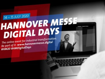HANNOVER MESSE Digital Days: premijera od 14. do 15. jula