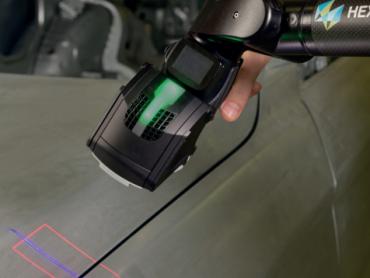 3D LASERSKI SKENER VISOKE PRODUKTIVNOSTI POSTAJE DEO HEXAGON-OVOG UREĐAJA ABSOLUTE ARM