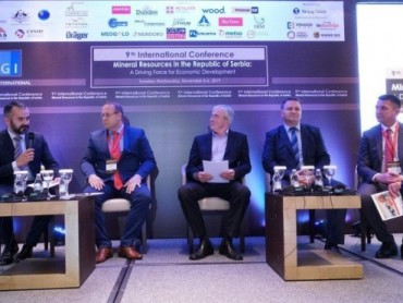 """Deseta međunarodna konferencija o mineralnim resursima u Republici Srbiji pod sloganom """"Pokretačka snaga ekonomskog razvoja"""""""
