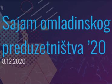 Sajam omladinskog preduzetništva '20