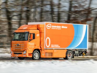 Gebrüder Weiss ima novitet u svom voznom parku - kamion sa pogonskim gorivom na vodonik