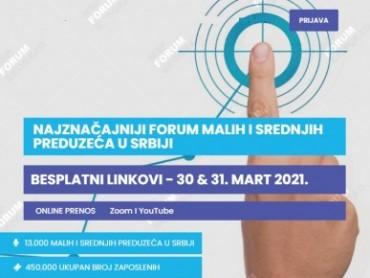 Najznačajniji biznis forum malih i srednjih preduzeća u Srbiji