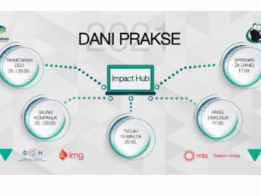Dani prakse - u onlajn poslovnom formatu putem platforme Impact Hub-a
