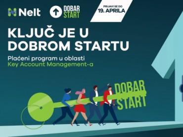 """Nelt raspisao konkurs za plaćeni razvojni program """"Dobar start 6"""""""
