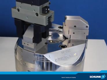 Tehnika stezanja - Potpuno automatizovan sistem za brzu zamenu stezne čeljusti bez alata