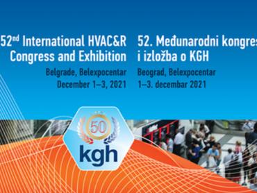 52. Međunarodni kongres i izložba o KGH u decembru u Beogradu