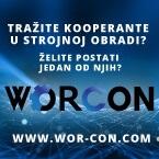 """""""Worcon Platforma za povezivanje kooperanata i kupaca u industrijskoj strojnoj obradi"""